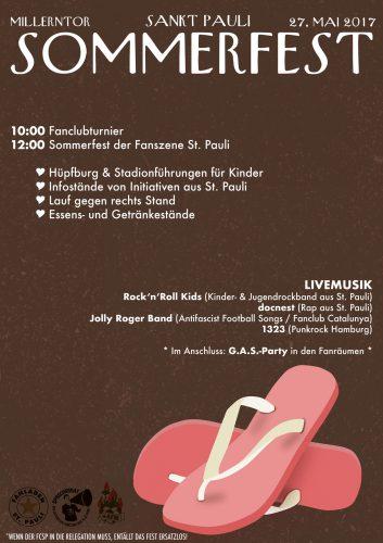 Sommerfest-Flyer 2017