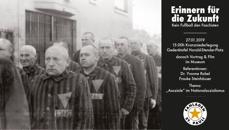 Holocaust Gedenktag 2019 Fanladen Stpauli